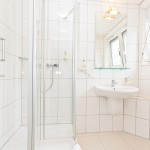 Das Bad in einem Comfort Zimmer
