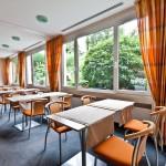 Der Frühstücksraum des Hotel Vetter