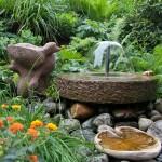 Der Garten des Hotel Vetter
